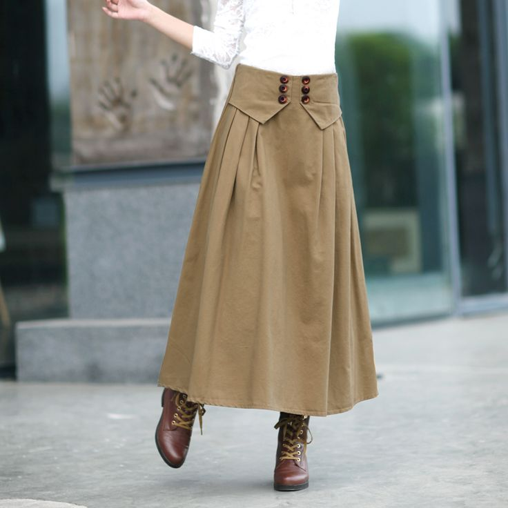 vintage skirts for winter | Vintage autumn and winterhalf-length 2014 winter cotton bust skirt