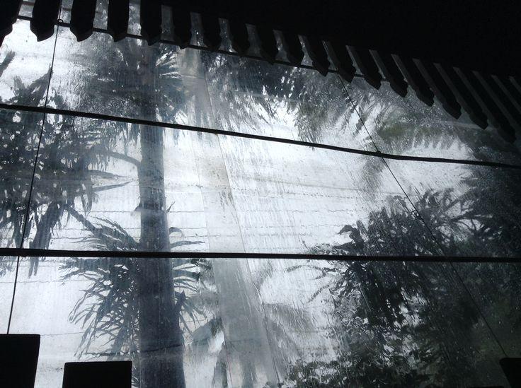 Protecting the verandha from the rain. Martin's Corner