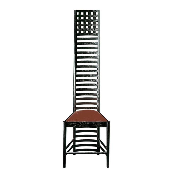 Silla de Mackintosh original de la colecci—n de clasicos del dise–o de Alivar. Comprar silla Mackintosh original.