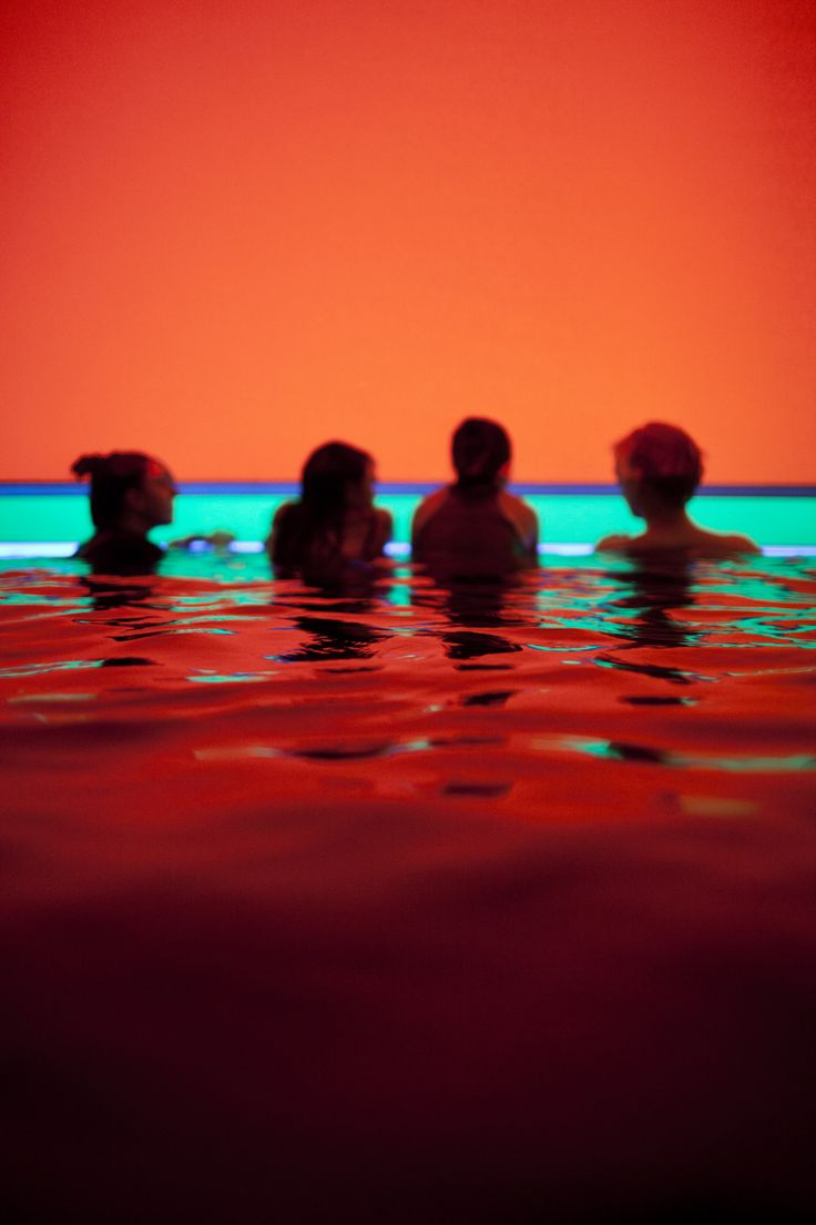 Pool | Installation - American Light Artist James Turrell creates installations that combine art and science. Building on his studies of psychology and mathematics, and his experiences as a pilot, Turrell's works are explorations in light and space.
