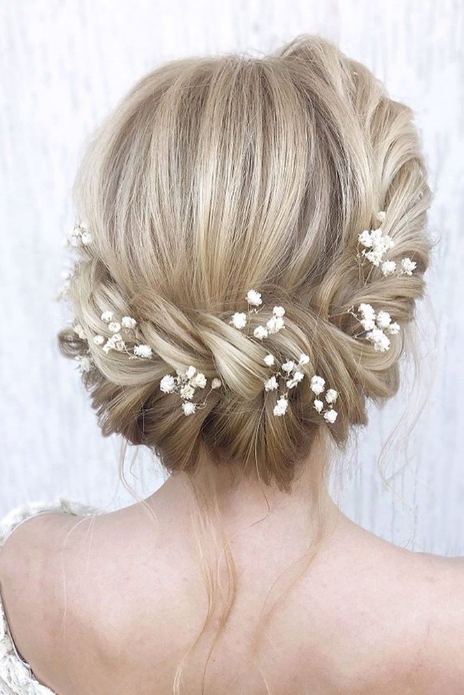 30 Wedding Hairstyles For Thin Hair: 2017 Collection #weddinghairstyles