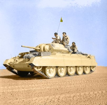 Desert Crusader Tank