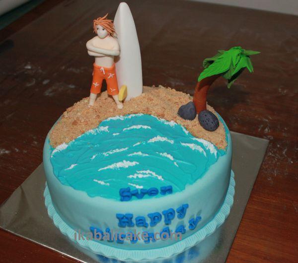 Beach Boy Cake ikabalicake.com