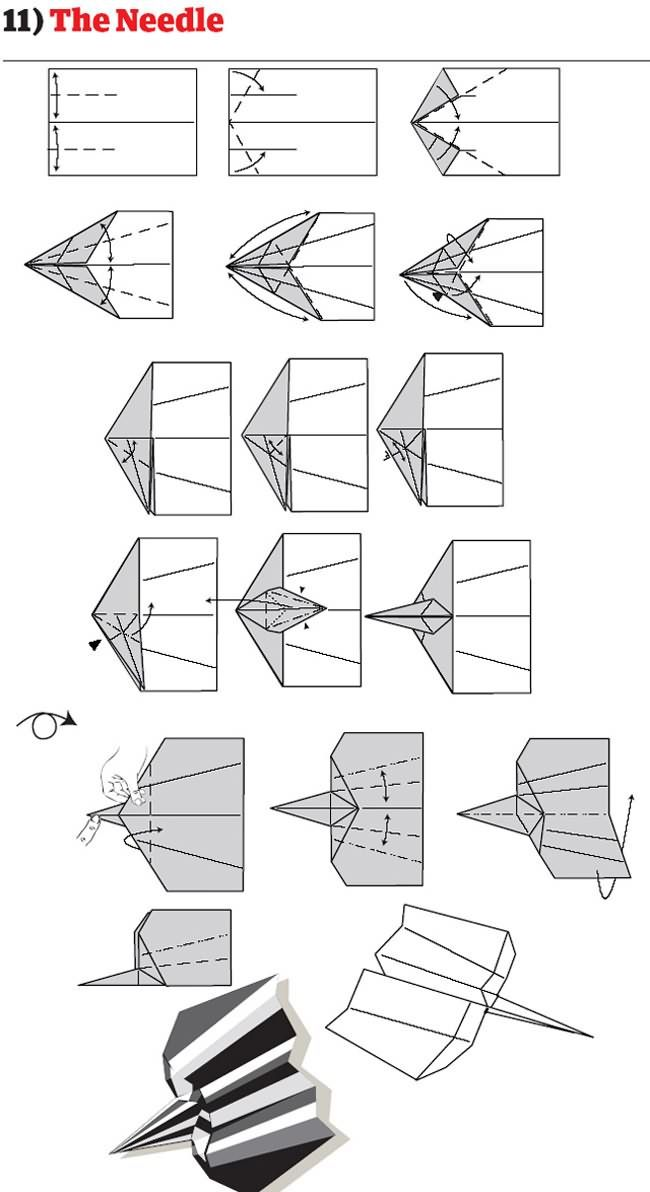 12 Tutos Pour Construire les Meilleurs Avions en Papier   Buzzly