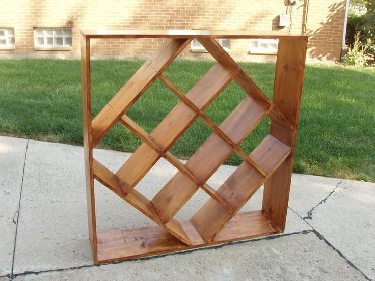 Wine Rack Plans Diamond Woodworking Projects Plans