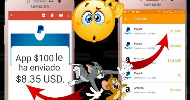 Nueva E Increíble App Para Ganar 1 Dólar Cada 5 Horas Nueva App Para Ganar Dinero Desde Casa 2019 Ganar Dinero Desde Casa Ganar Dinero Ganar Dinero Paypal