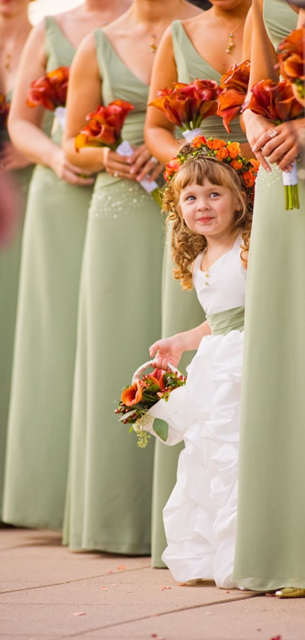 adorable flower girl photo by Jeffrey and Julia Woods`