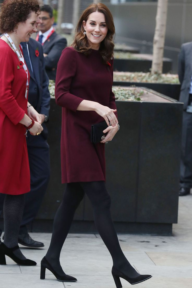 Kate Middleton revealed on Wednesday that she's back to feeling like herself — including taking her 4-year-old son, Prince George, to school. Kate Middleton Says She Can Take George to School