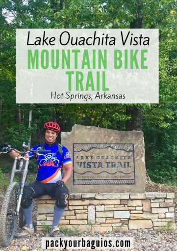 The Lake Ouachita Vista Mountain Bike Trail | Pack Your Baguios | LOViT | Mountain Bike Riding | Hot Springs, Arkansas | Mountain Bike