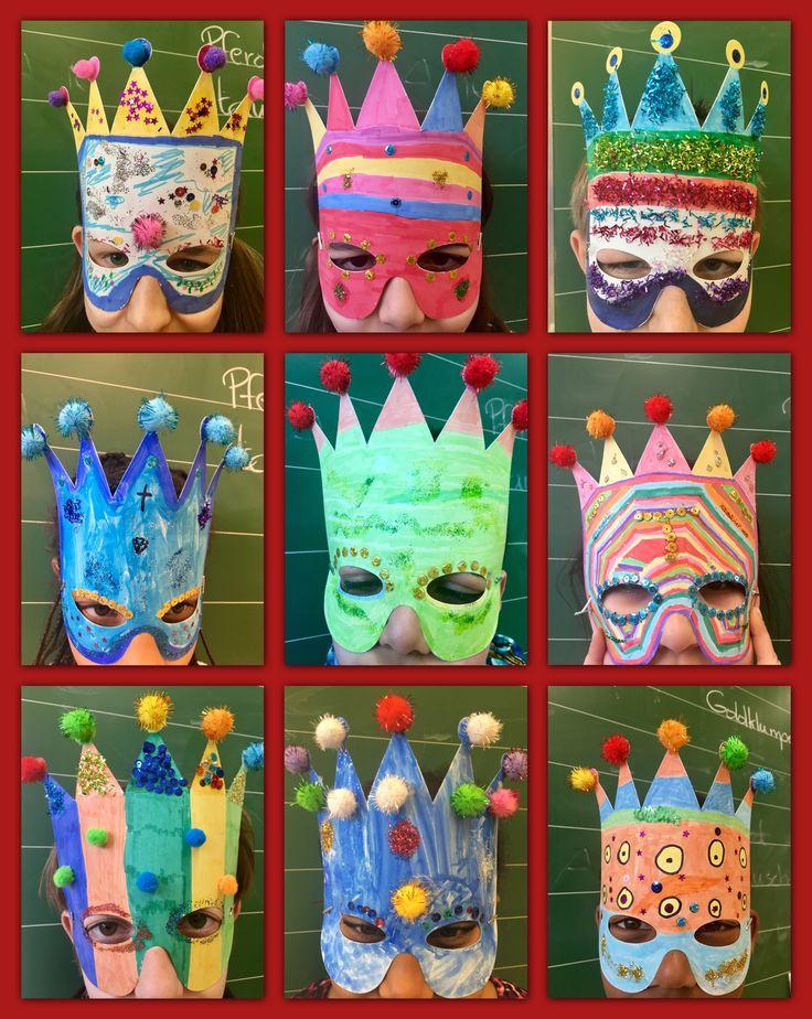 Masken, Karneval, Fasching