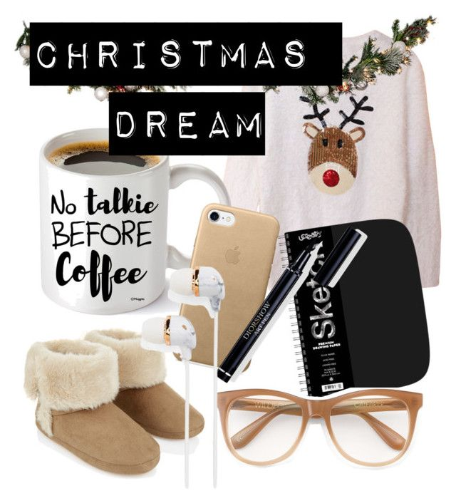 Untitled #51 by natalka-safranekova on Polyvore featuring polyvore fashion style Accessorize Wildfox Happy Plugs Improvements clothing