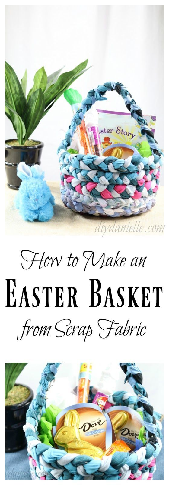 How to Sew an Easter Basket from Upcycled Fabric Mod Podge Rocks | Crafts + DIY