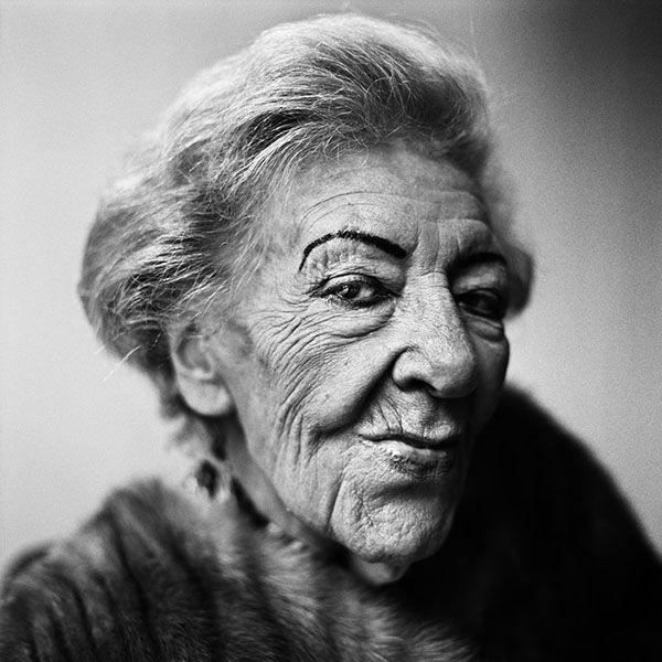 La Esterella (born Esther Lambrechts 1919-2011) - Flemish singer. Photo by Stephan Vanfleteren