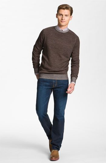 Thank God for men in sweaters