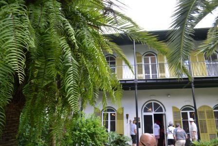 Hemingway Home in Key West.