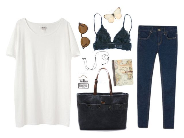 """""""Untitled #36"""" by nagy-bori on Polyvore featuring Cuero, Acne Studios, Ray-Ban and Marshall"""