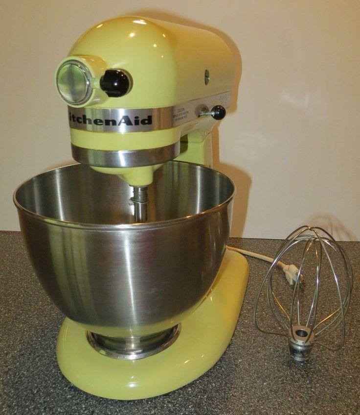 Hobart kitchenaid k45ss tilt head solid state stand mixer