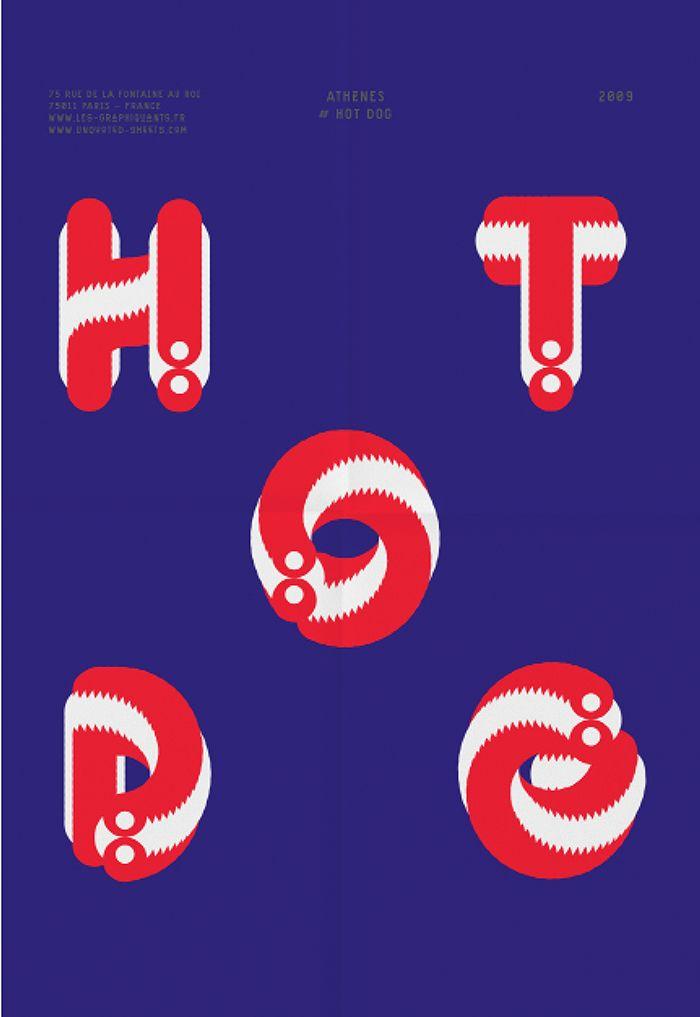 Typographies - Athènes - Les Graphiquants