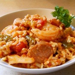 Jambalaya - very good, but couldn't find the File Powder in Hawaii when I made it; will need to search around the internet.