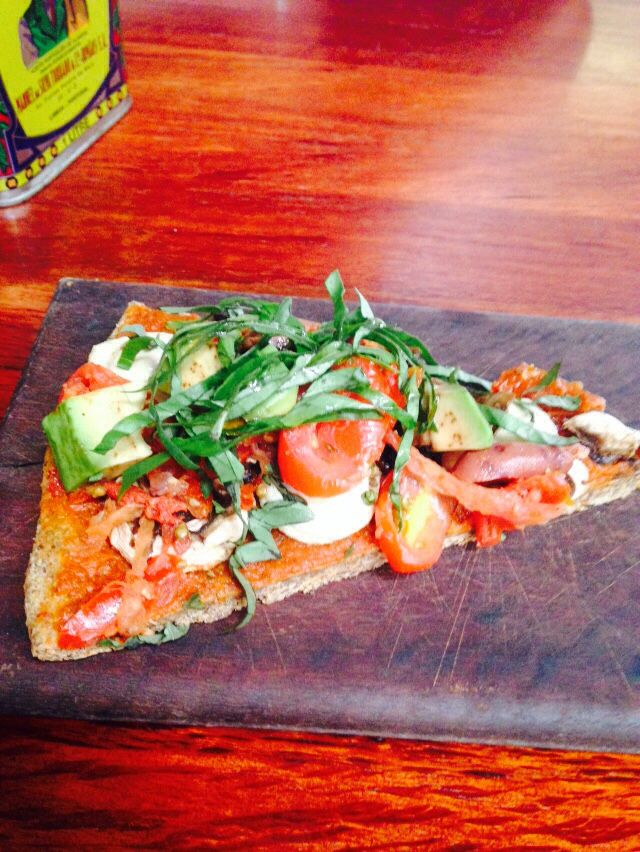 Live Pizza from the Raw Kitchen, Fremantle.