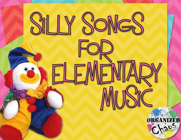 Organized Chaos: Teacher Tuesday: top 5 silly songs to sing with kids