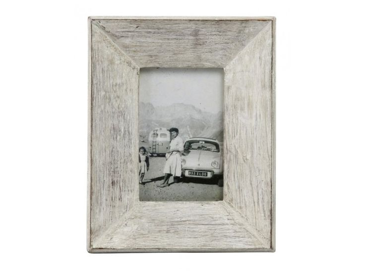Rámeček na fotky z kolekce Memoires, bílá barva s patinou