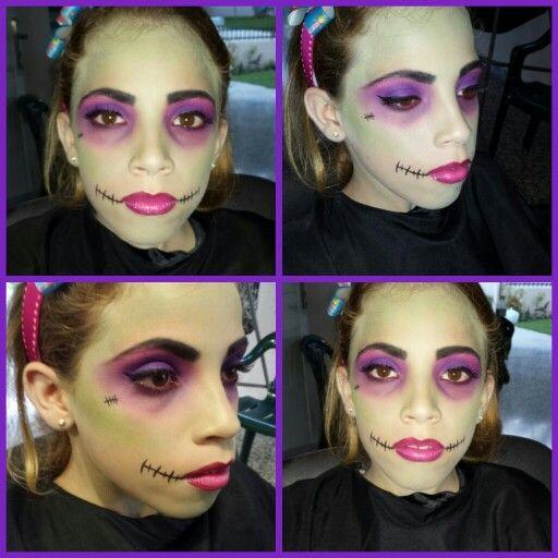 Monster High, Halloween makeup for kids