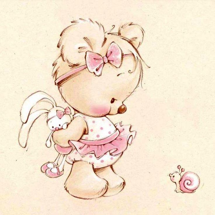 Любви мужчины, картинки милые мишки мультяшные