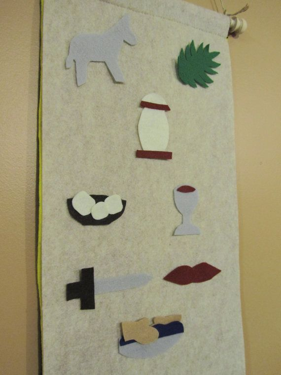 Easter Banner- holy week story telling for young children