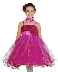 vestidos corte princesa para niña 4