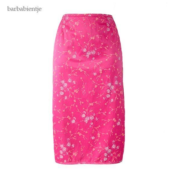 OILILY - Mooie roze rok Japanse stijl mt 36
