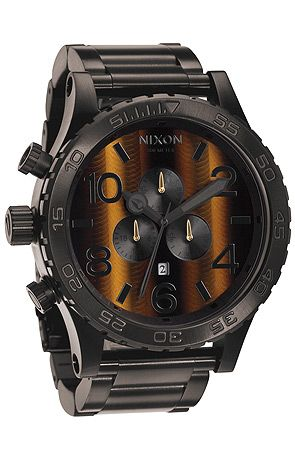 The Nixon 51-30 Chrono Watch in Tigerseye-adding this one to my collection of Nixon's!