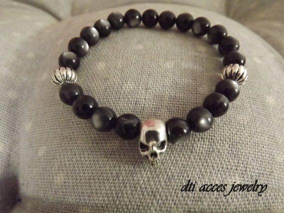 Retrouvez cet article dans ma boutique Etsy https://www.etsy.com/fr/listing/385683930/bracelet-crane  #bracelet #dtiacces #menstyle #jewelryformen