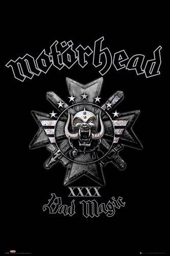 Poster MOTORHEAD - Bad Magic - http://rockagogo.com