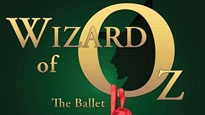 Promotional poster for TCB's Wizard of Oz: The Ballet