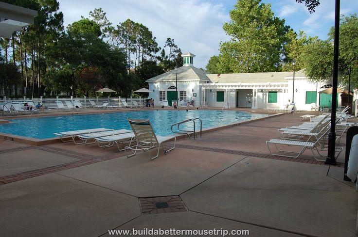 Disney's Port Orleans Riverside Mansion Quiet Pool - For more resort photos & information, see: http://www.buildabettermousetrip.com/disneys-port-orleans-riverside