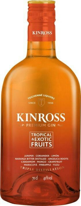 KINROSS GIN TROPICAL&EXOTIC FRUITS