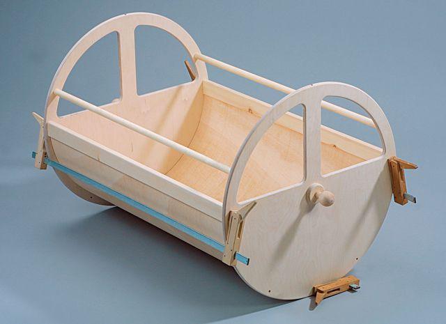 Bauanleitung baby wiege selbst bauen baby cribs