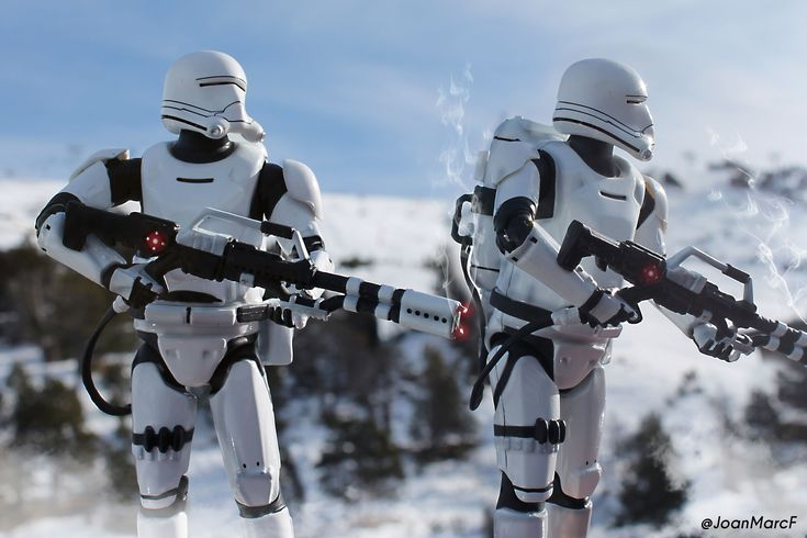 2 flametroopers / toyphotography star wars
