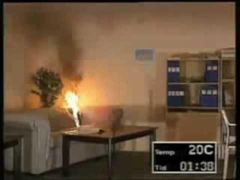 Video tulipalon kehittymisestä - YouTube
