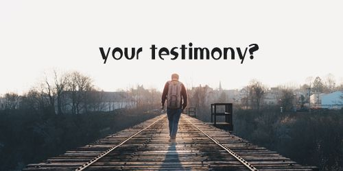 """Your Testimony – John 9: 24-27 – The man told the doubting people """"I was blind. now I see"""". Wonderful words from a healed man!! This is what Christian life is all about. I pray we can hear many testimonies like this – I used to lust after other people's things and their bodies, but Christ delivered me. I used to always worry and struggle with anxiety, but Christ set me free. I used to fight with my wife often, but Christ has changed us to be peaceful people. Amen."""