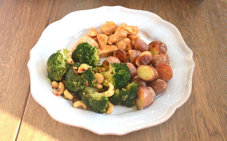Gezond: Pittige broccoli met cashewnoten - Amber Albarda