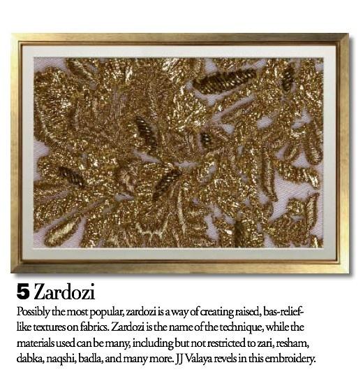 Exquisite Embroideries- Zardosi