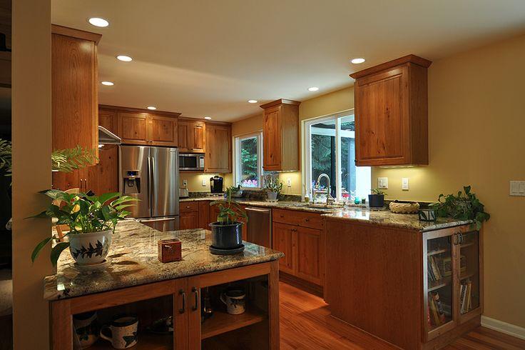 1970 split level homes remodeled residential kitchen - Kitchen designs for split level homes ...