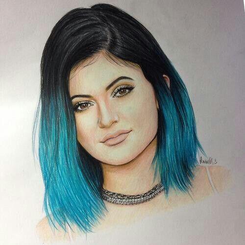Best 25 Kylie Jenner Drawing Ideas On Pinterest: Kylie Jenner Und Kendall Jenner
