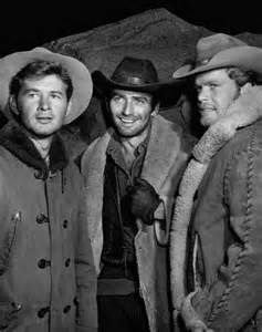 Left to right) Gary Clarke, James Drury, and Doug McClure, TV's The ...