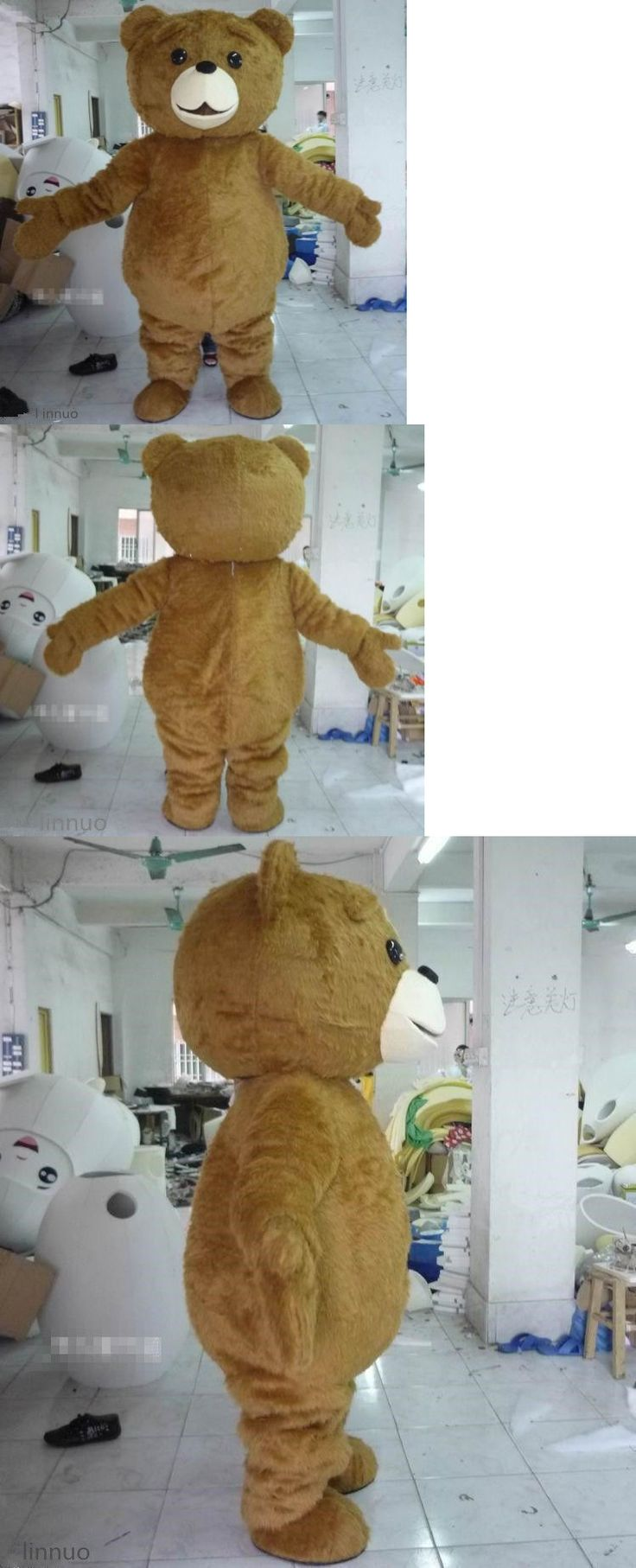 Unisex 86207: Teddy Bear Of Ted Adult Size Halloween Cartoon Mascot Costume Fancy Dress -> BUY IT NOW ONLY: $109.88 on eBay!