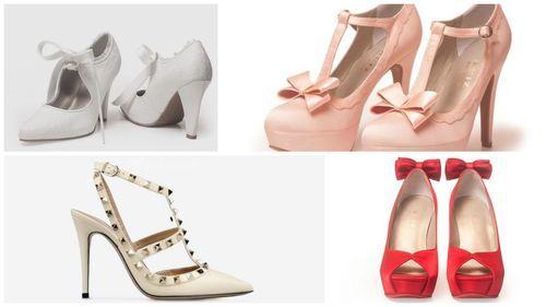 zapatos-de-novia-modernos: http://vestidosdenoviacortos.com/zapatos-vestidos-novia/