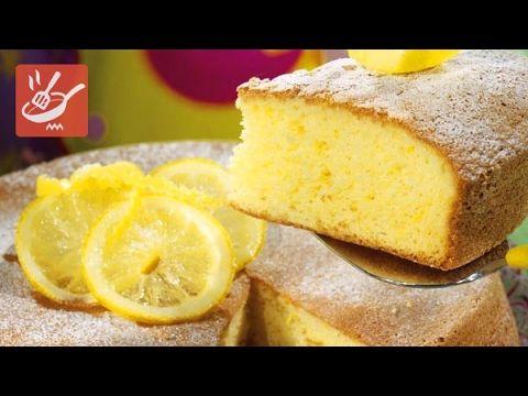 Torta al limone e limoncello farcita alla crema (Spadellandia)