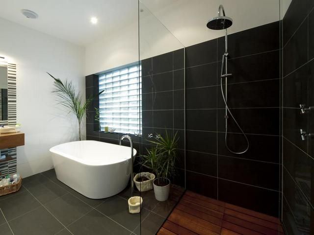 44 best images about bathroom ideas on pinterest contemporary bathrooms rain shower and - Bathroom decorating ideas australia ...